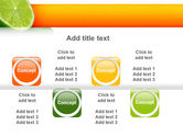Lime PowerPoint Template#19