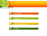 Lime PowerPoint Template#3