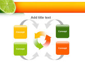 Lime PowerPoint Template#6