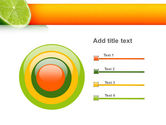 Lime PowerPoint Template#9
