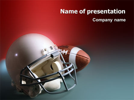 Sports: American Football Carolina Panthers PowerPoint Template #02461