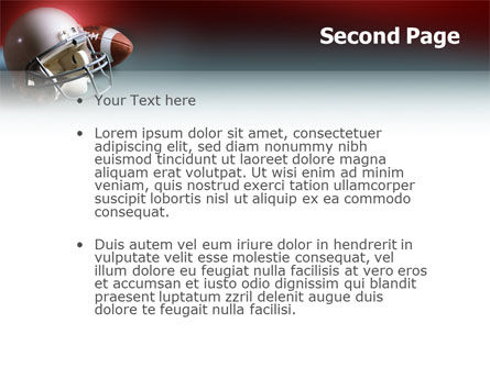 American Football Carolina Panthers PowerPoint Template Slide 2