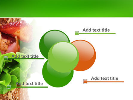 Burger PowerPoint Template Slide 10