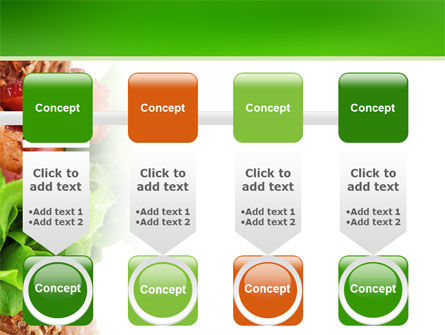 Burger PowerPoint Template Slide 18