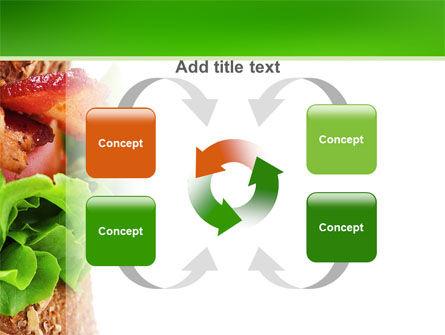 Burger PowerPoint Template Slide 6