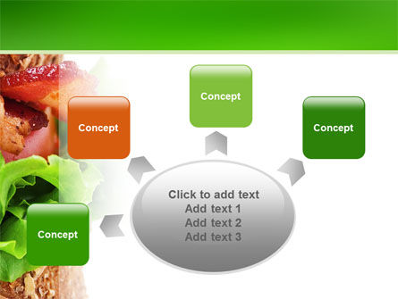 Burger PowerPoint Template Slide 7