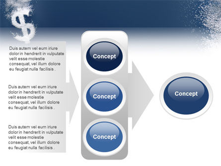 Dollar In Deep Dive PowerPoint Template Slide 11