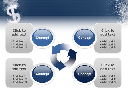 Dollar In Deep Dive PowerPoint Template Slide 9