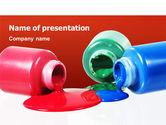 Utilities/Industrial: Verfblikken PowerPoint Template #02465
