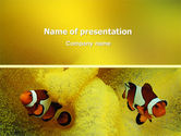 Nature & Environment: Modello PowerPoint - Pesce tropicale #02466