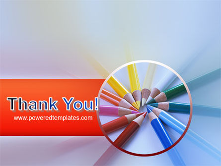 Color Pencils PowerPoint Template Slide 20