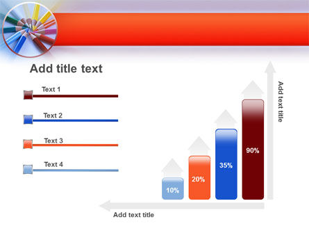 Color Pencils PowerPoint Template Slide 8