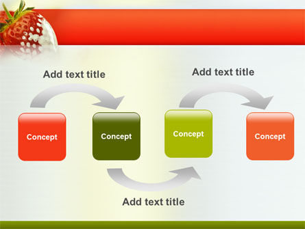 Strawberry PowerPoint Template Slide 4