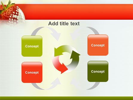 Strawberry PowerPoint Template Slide 6