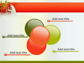 Strawberry PowerPoint Template#10