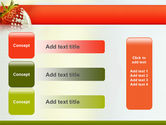 Strawberry PowerPoint Template#12