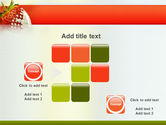 Strawberry PowerPoint Template#16