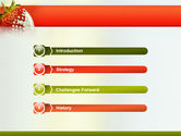 Strawberry PowerPoint Template#3