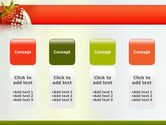 Strawberry PowerPoint Template#5