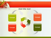Strawberry PowerPoint Template#6