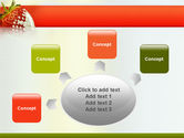 Strawberry PowerPoint Template#7