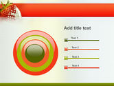 Strawberry PowerPoint Template#9