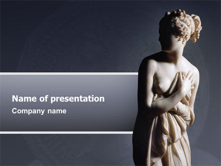 Art & Entertainment: Roman Sculpture PowerPoint Template #02473