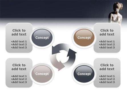 Roman Sculpture PowerPoint Template Slide 9