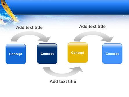 Regatta PowerPoint Template, Slide 4, 02475, Sports — PoweredTemplate.com
