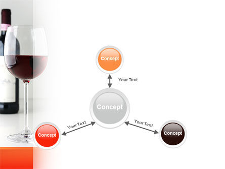 Bottle of Wine PowerPoint Template Slide 14