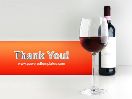Bottle of Wine PowerPoint Template Slide 20