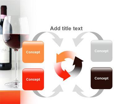 Bottle of Wine PowerPoint Template Slide 6