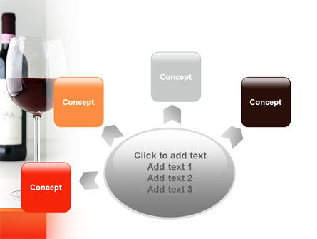 Bottle of Wine PowerPoint Template Slide 7