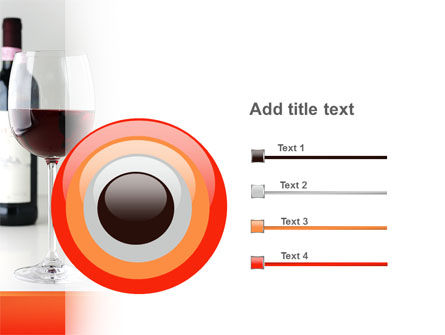 Bottle of Wine PowerPoint Template Slide 9