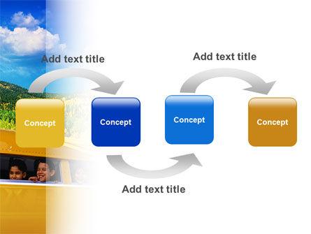 School Bus PowerPoint Template Slide 4