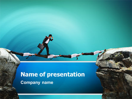 Career Canyon PowerPoint Template