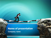 Consulting: Career Canyon PowerPoint Template #02479