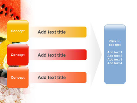 Water Melon PowerPoint Template Slide 12