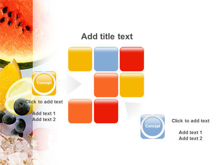 Water Melon PowerPoint Template Slide 16