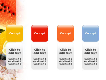 Water Melon PowerPoint Template Slide 5