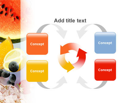 Water Melon PowerPoint Template Slide 6