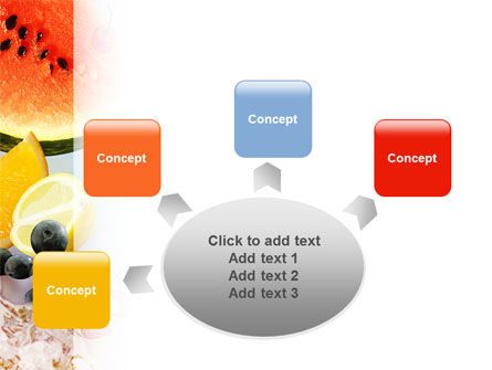 Water Melon PowerPoint Template Slide 7