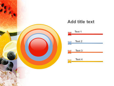 Water Melon PowerPoint Template Slide 9