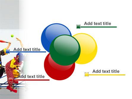 Clowns PowerPoint Template Slide 10