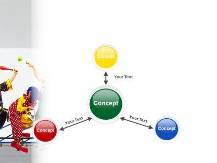 Clowns PowerPoint Template Slide 14