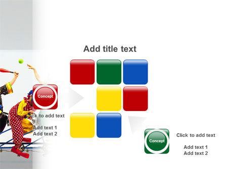 Clowns PowerPoint Template Slide 16