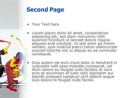 Clowns PowerPoint Template, Slide 2, 02482, Art & Entertainment — PoweredTemplate.com