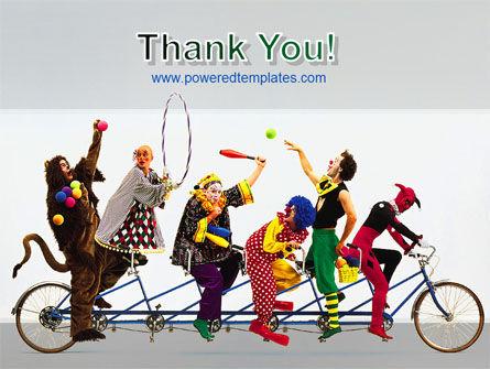 Clowns PowerPoint Template Slide 20