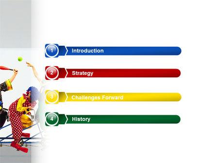 Clowns PowerPoint Template, Slide 3, 02482, Art & Entertainment — PoweredTemplate.com