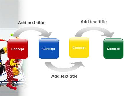 Clowns PowerPoint Template, Slide 4, 02482, Art & Entertainment — PoweredTemplate.com